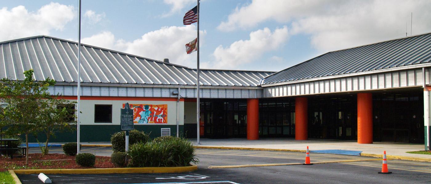 R. J. Murray Middle School Entrance